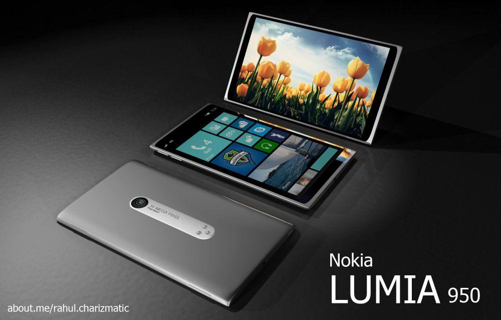 Nokia Lumia 950: concept phone con scocca unibody in metallo