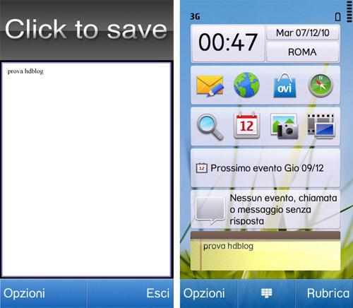 aplicacion desktop notes nokia n8