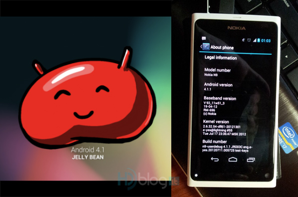 Nokia N9 con Android 4.1 Jelly Bean grazie a NITDroid (work in
